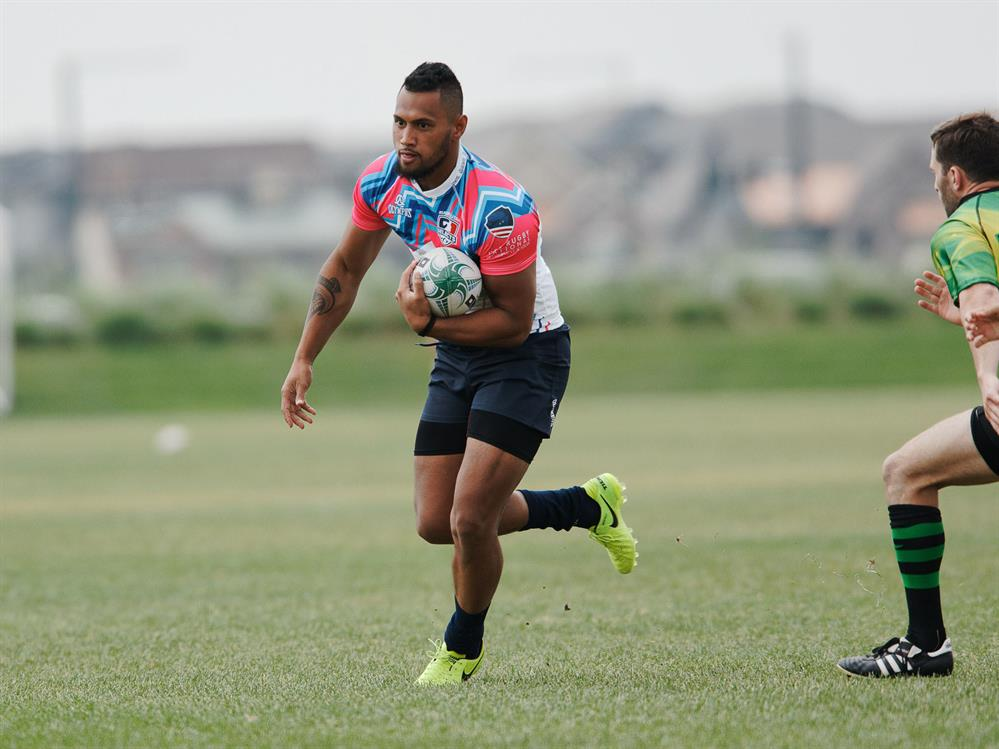 USA Falcon and Utah Selects 7s player Havea Unufe signs with the Warriors