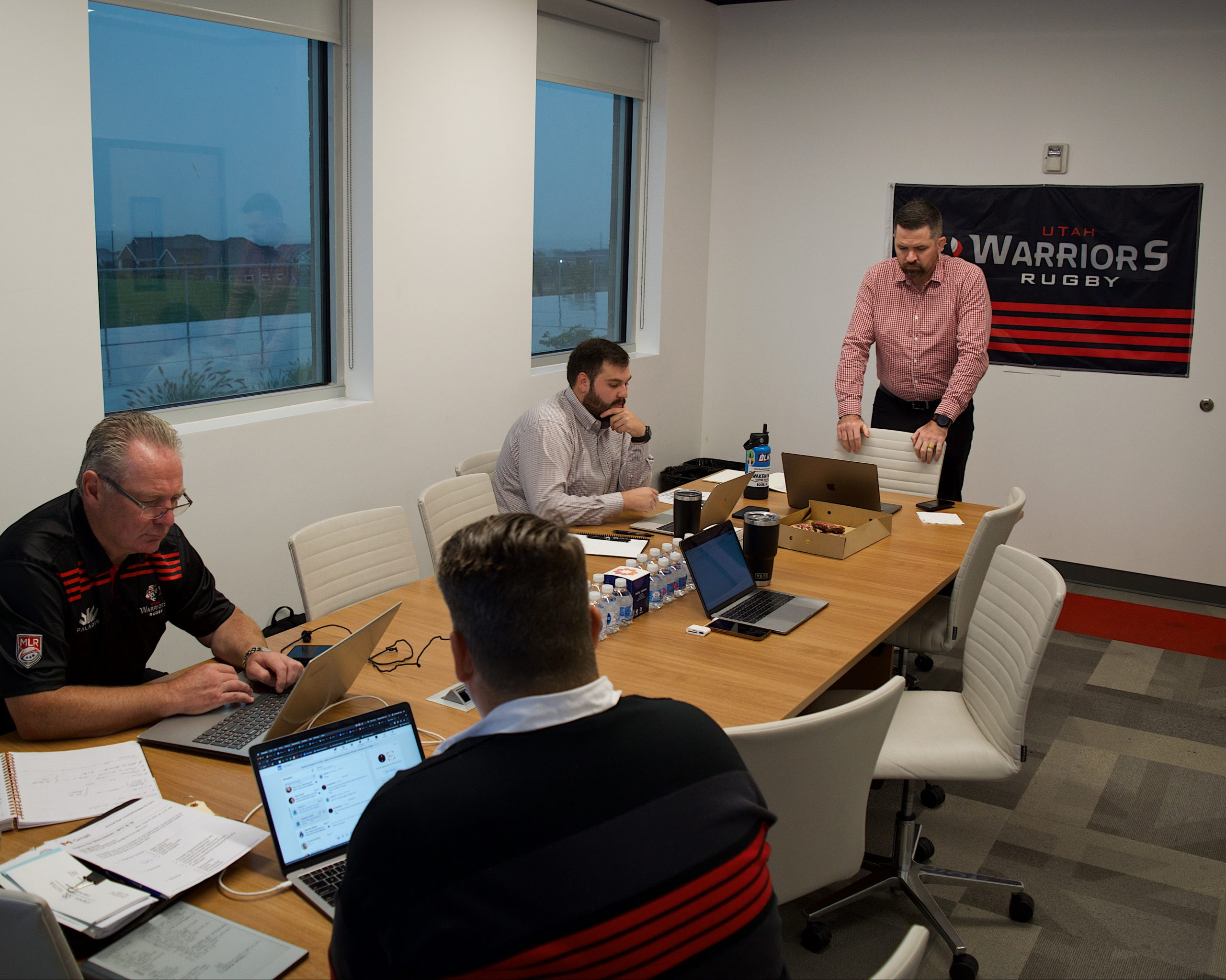 Behind the scenes at the 2021 MLR Draft